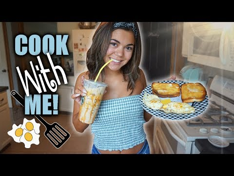 COOK AND EAT BREAKFAST WITH ME!