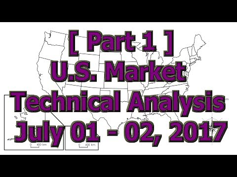[ Part 1 ] U.S. Market Technical Analysis July 01, 2017