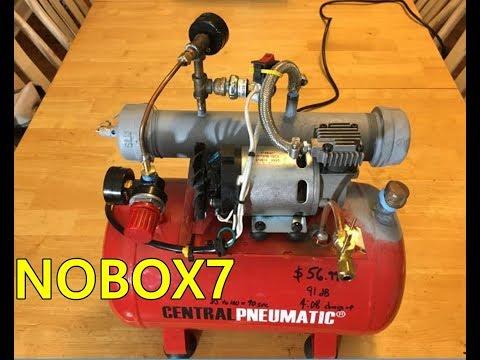 Waste Oil Burner Pump ( DIY )