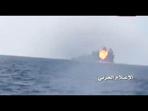 Houthi Rebels in Yemen attack Saudi Navy Warship with Missile