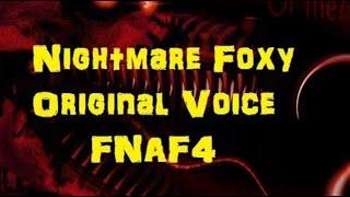 "Video FNAF 4 ""Nightmare Foxy"" Original Video by David Near (Re-uploaded) download MP3, 3GP, MP4, WEBM, AVI, FLV April 2018"