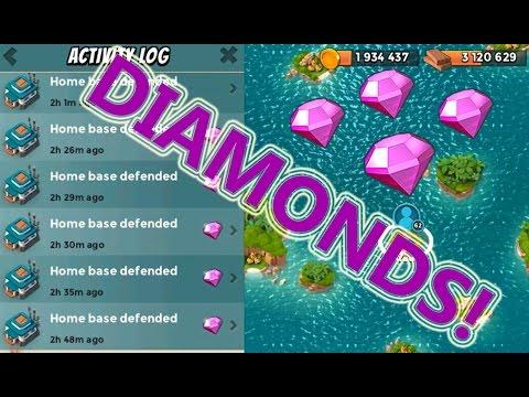 DIAMOND FARMING | Boom Beach | STRONG DEFENSE BASE LAYOUT