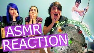 ASMR REACTION & WRECKING BALL ORNAMENTS!!! (Day 29)