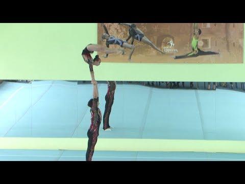 Кубок Беларуси по спортивной акробатике прошёл в Бресте