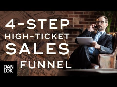 4-Step High-Ticket Sales Funnel for Selling Consulting Services | The Art of High Ticket Sales Ep.17
