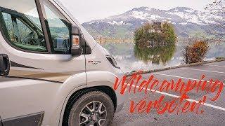 Wildcamping verboten...・Mit dem Camper über die Grand Tour of Switzerland・Folge 3