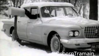 1961 Plymouth Valiant Commercial - Bennington VT - Covered Bridge