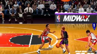 NBA Maximum Hangtime (Arcade), Gameplay (Chicago Bulls VS Vancouver Grizzlies)