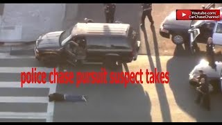 police chase pursuit suspect takes