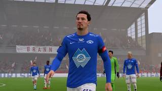 FIFA 18 | Brann vs Molde | Norway Eliteserien - Full Gameplay (PS4/Xbox One)