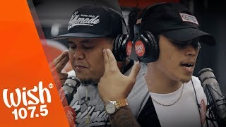 "Tiny Montana and CLR performs ""Lipad"" LIVE on Wish 107.5 Bus"
