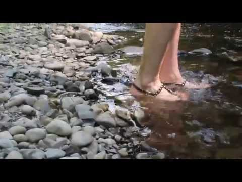 Watch InStyle's creative director Rina Stone dip her toes (and Givenchy jellies!) in the water!
