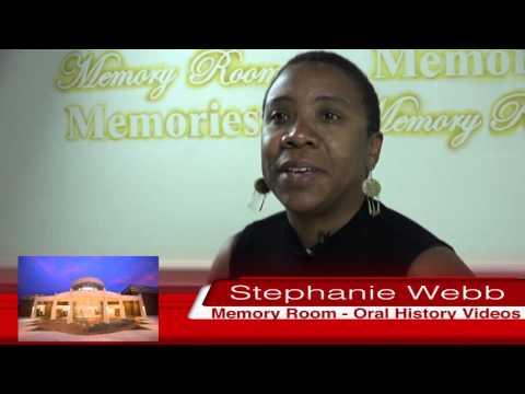 Stephanie Webb - Memory Room - Oral History Video