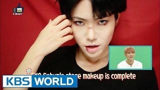 Video Kkongji's K-pop Star Makeup - EXO's Sehun [Battle Likes] download MP3, 3GP, MP4, WEBM, AVI, FLV November 2017