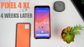 Pixel 4 XL One Month Review | The Pixel Experience at its Finest