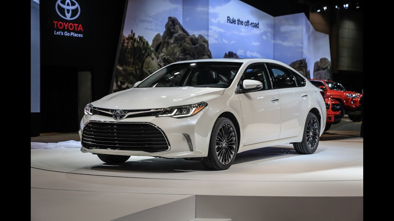 2017 Toyota Avalon Hybrid Changes And Release Date