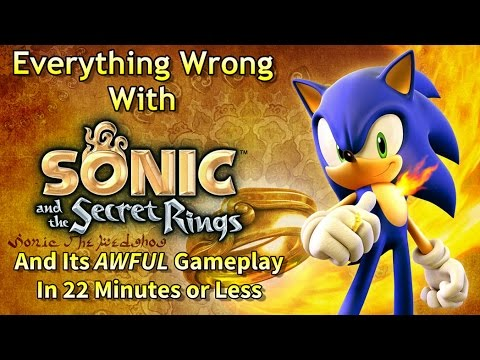 Everything Wrong With Sonic & the Secret Rings in 22 Minutes