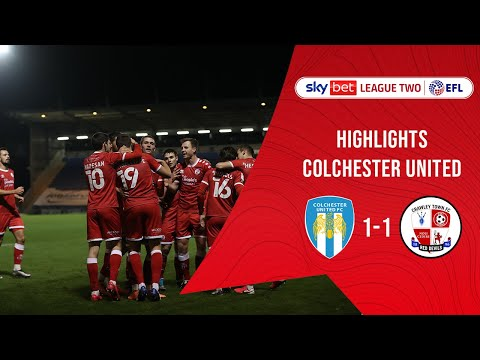 Colchester Crawley Town Goals And Highlights