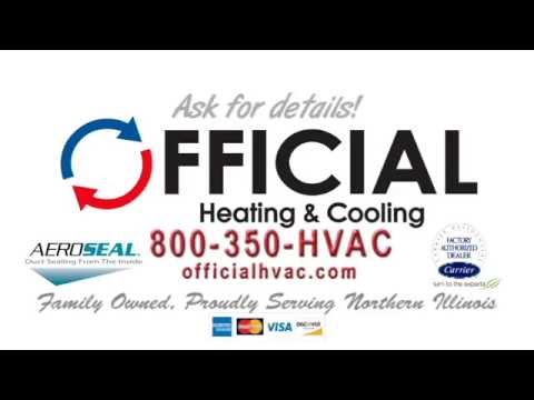 Aeroseal Duct Sealing By Official Heating Cooling