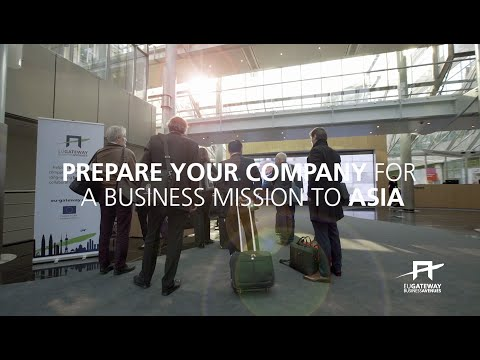 Prepare your company for a business mission to Asia