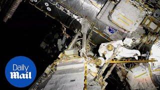 astronauts-embark-spacewalk-replace-batteries-solar-array