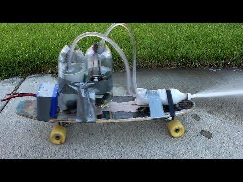 Liquid Fueled Baking Soda/Vinegar Rocket