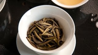 White Tea-Steep #1 Pu-erh Bai Ya-White Downy Buds-Puerh Silver Needle