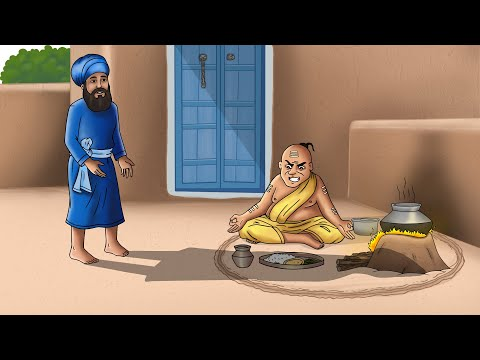 Guru Nanak & The Brahman's Pure Food | Sikh Stories for Chil