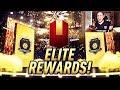 MY ELITE FUT CHAMPIONS REWARDS + NEW PLAYER PICK PACKS!!   FIFA 19 ULTIMATE TEAM