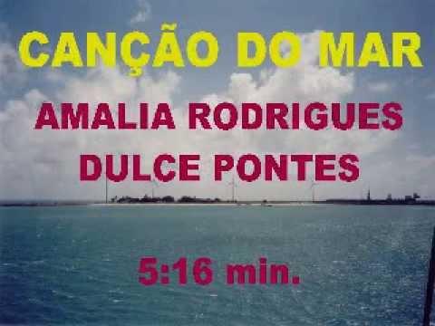 Canção do Mar - Amalia Rodrigues - Legenda