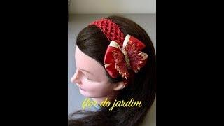 Borboleta de fitas para o cabelo Butterfly for hair