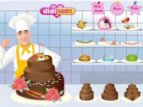 เกมทำเค้ก