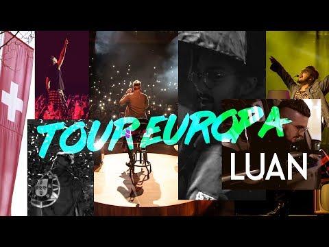 Luan Santana - Turnê Europa 2018