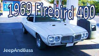 1969 Pontiac Firebird 400 Rolling Burnouts