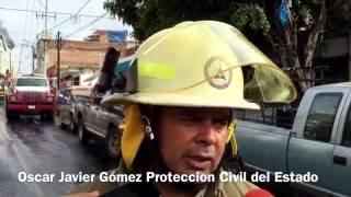 Incendio en fábrica de productos químicos en la colonia Santa Cecilia de Guadalajara