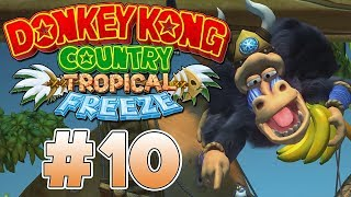 (JEFE) BABUM EL BOMBARDERO | PARTE #10 | DONKEY KONG COUNTRY: TROPICAL FREEZE (SWITCH)