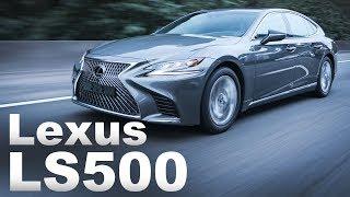 自駕也從容!Lexus LS500 & LS500h