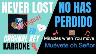 Download NEVER LOST- Elevation Worship Karaoke/Instrumental w/lyrics(English & Spanish) Mp3 and Videos