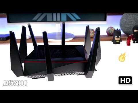 Asus RT AC5300 Spider Router Unboxing Setup