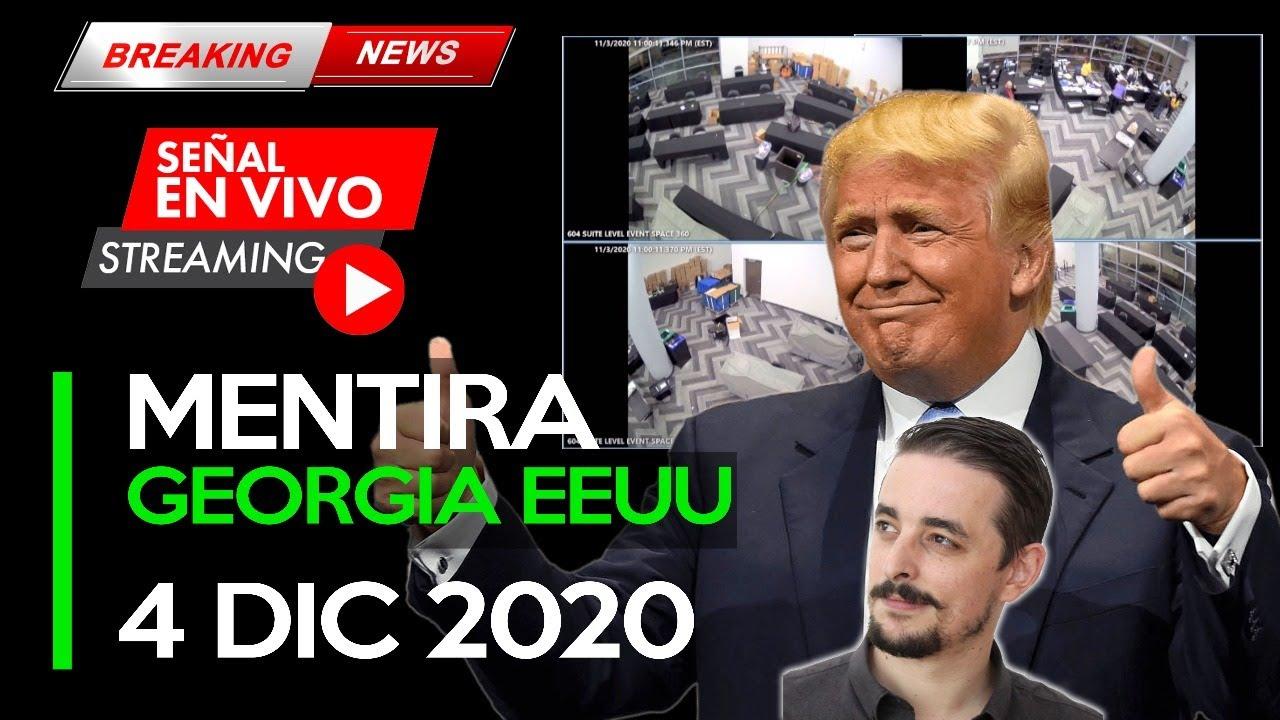 ASÍ INVENTARON VOTOS EN GEORGIA EEUU MIENTRAS NADIE MIRABA... | MR SANTOS SHOW 4 DIC 2020
