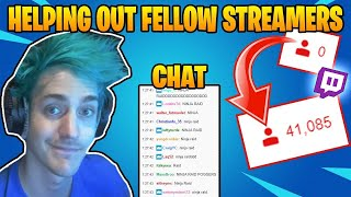Ninja *RAIDS* SMALL Twİtch STREAMER With CHAT Reaction