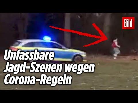 Polizei-Auto jagt Jugendlichen durch Park in Hamburg – wegen Verstoß gegen Corona-Regeln