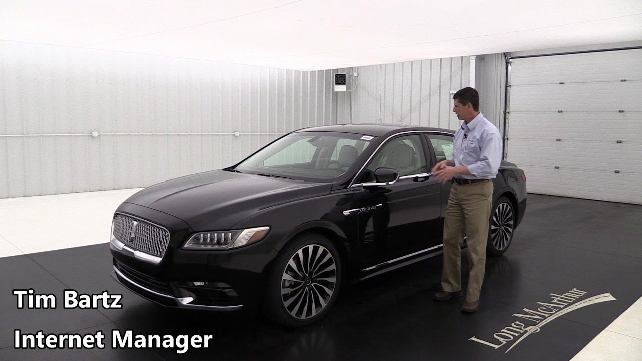 2017 Lincoln Continental Black Label Chalet Youtube