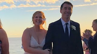 Amy Schumer Explains Why She Rushed To Get Married After Months of Dating
