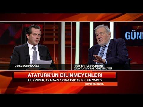 İlber Ortaylı Atatürk'ü ve Türk tarihini anlattı