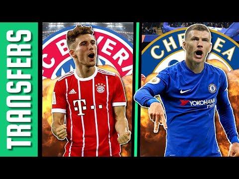 Goretzka a Bayern Münchenben folytatja! Dzeko közel a Chelsea-hez!   Átigazolási hírek