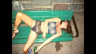 Drunk girl fails #2