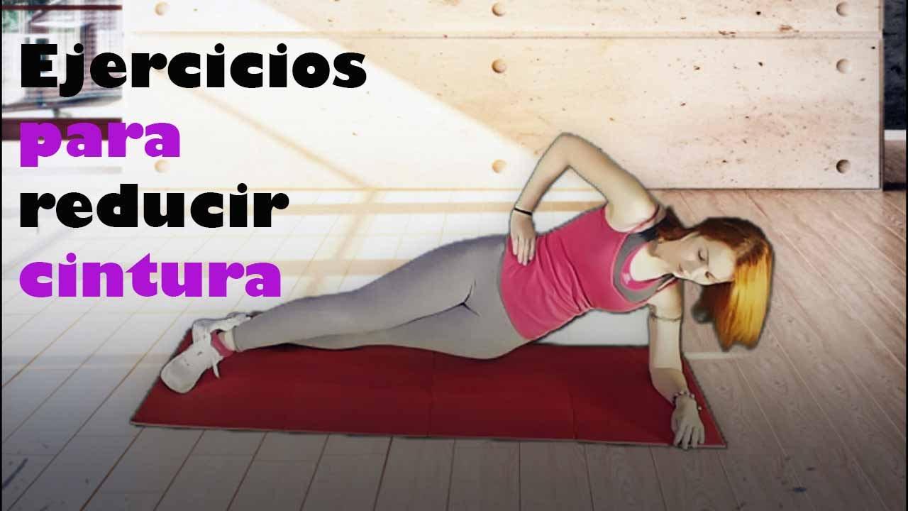 ejercicios para adelgazar los costados de la cintura