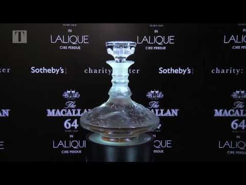 The Macallan in Lalique Cire Perdue Decanter Global Roadshow in Hong Kong