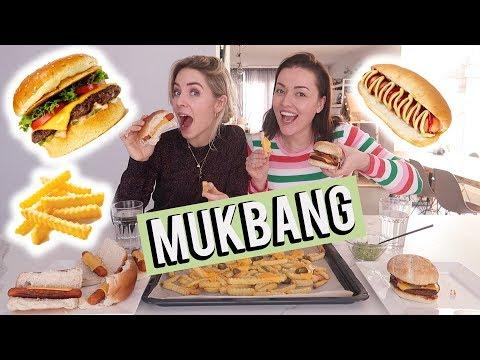 Amerikaans eten mukbang met Claire! | Beautygloss